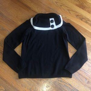 Gorgeous EUC Rafaella Cowl Neck Sweater
